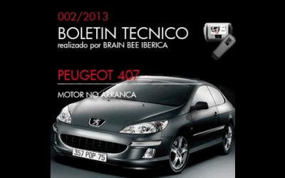 Boletín Técnico Peugeot 407