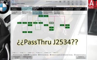 Diagnosis por Passthru: en qué consiste y cómo varía entre fabricantes